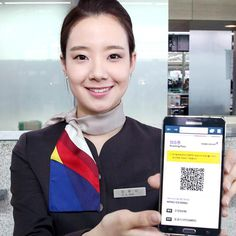 Get your smartphones ready! Asiana Airlines Internet/mobile boarding pass service is coming your way at ICN and SFO starting May International Flights, International Airport, Airline Uniforms, Near Future, May 1, Boarding Pass, Internet, Incheon, Airports
