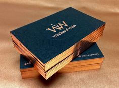 Image result for gold foil business cards