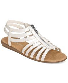 129b1b26508f Aerosoles Chlothesline Flat Sandals Shoes - Sandals   Flip Flops - Macy s