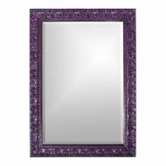 Melissa Mirror | Grandin Road Color Crush on Purple Thistle
