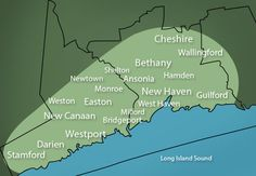 Our service area. We work all of New Haven and Fairfield counties of Connecticut.
