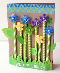 Inspired by this sweet card? Queen & Co Stylish Stix are on sale at Blitsy right now! Pick some up and get started on a card of your own!