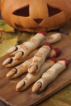 Witch Fingers Cookies