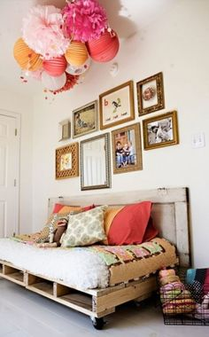 DIY Day Bed Pallet Project DIY Day Bed Pallet Project