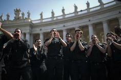 Crowds flood Vatican City for dual papal canonization