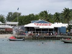 Trader Jacks in Avarua on Rarotonga, Cook Islands. A pity Zac Guildford wasn't there on a bender.