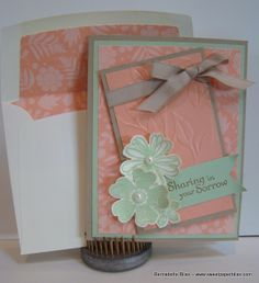 A mojo340 challenge card  I created using SU products. www.sweetpaperbliss.com
