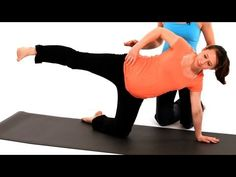 How to Do SI Joint Dysfunction Exercise | Pregnancy Workout - YouTube