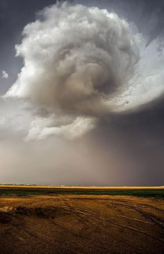 Nebraska Swirl - Developing Tornado Print by Douglas Berry