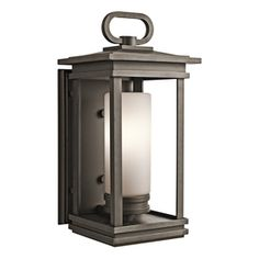 Kichler Lighting South Hope 19.75-In H Rubbed Bronze Outdoor Wall Ligh