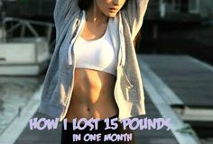 How to Lose 15 Pounds in One Month without Exercise