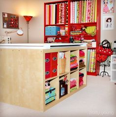 Craft Room Design and Organization Ideas