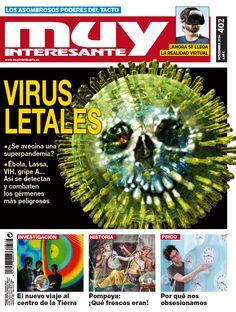 Ya está en la calle la nueva Muy Interesante Nº 402 correspondiente al mes de noviembre de 2014. El tema principal de este mes es sobre los virus como el ébola, la gripe A, el VIH... Pero además hablamos de psicología, Pompeya, el poder del tacto, la realidad virtual del futuro... ¿A qué esperas para comprarla?