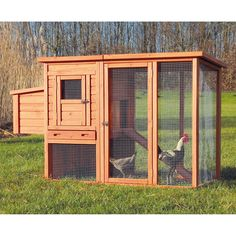 Have to have it. Trixie Chicken Coop with Outdoor Run - $289.99 @hayneedle.com