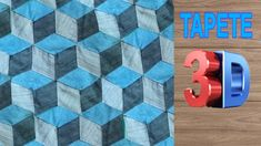 3d Video, Labor, 3 D, Rugs, Creative, Youtube, Fabric Scraps, Bathroom Mat, Scrappy Quilts