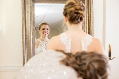 This bridal hairstyle is beautiful. Christy wore a low updo for her wedding day at Ashton Gardens in Sugar Hill, Georgia. This day was so special, and we loved getting to be Christy and Josh's wedding photographers! Bridal Hairstyle, Wedding Hairstyles, Chapel Wedding, Wedding Day, Wedding Hair And Makeup, Hair Makeup, Ashton Gardens, Sugar Hill, Low Updo