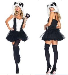 Find More Costumes Information about Wholesale European and American Naughty Womens Sexy Panda Costume Panda Dress Halloween Costume Animal PS062,High Quality Costumes from One Dress One World on Aliexpress.com