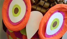 Pignatta fai da te o piñata, come volete chiamarla. Per il compleanno di Anna e per il vostro Carnevale la civetta, Hello Kitty, Titti e i Barbapapà.