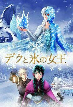 My Hero Academia X Frozen Crossover! 😂