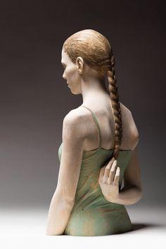 Wood Sculpture: Bruno Walpoth