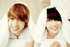 Jo twins Kwangmin and Youngmin