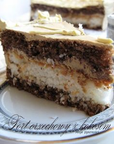 Polish Desserts, Polish Recipes, Pumpkin Spice Latte, Sweet And Salty, Food Items, Cake Cookies, Cupcake, Food And Drink, Cooking Recipes