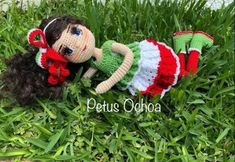 Knitting Patterns Pillow Como tejer chal en crochet muñeca María, amigurumis by Petus video (English subtitles) Crochet Boots, Crochet Slippers, Knitting Patterns, Crochet Patterns, Doll Dress Patterns, Soft Dolls, Amigurumi Doll, Doll Toys, Diy Clothes