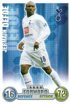 2007-08 Topps Premier League Match Attax #287 Jermain Defoe Front
