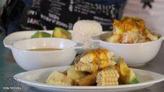 SANCOCHO DE PARGO   Lucero Vilchez Cocina Pargo, Chicken, Meat, Vegetables, Food, Soups, Cooking, Colombian Recipes, Essen