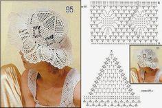 .: Verão chegando...Invista em Chapéus feitos de Crochê!