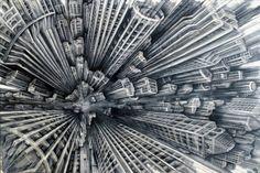 Vertigo Paintings by Fabio Giampietro | InspireFirst