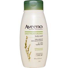 Gel de baño humectante Aveeno, con avena, para piel seca.