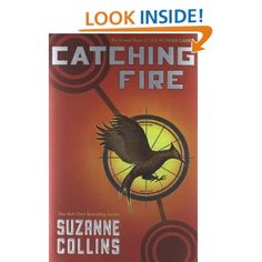 THIS IS THE RIVETING SECOND BOOK IN THE HUNGER GAMES SERIES. IT HAS A CLIFFHANGER ENDING LEAVING READERS FOR MORE.