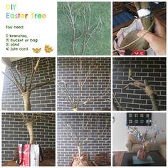 DIY Easter Tree