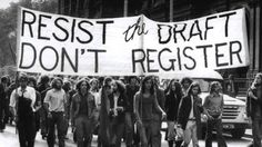 The Vietnam war draft was something that alot of people didnt enjoy which caused alot of riots and revolutions