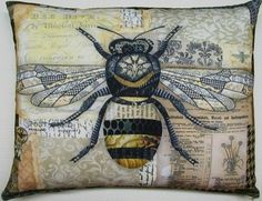 Pottery Barn Bee Pillow | traditional pillows by The Southern Home