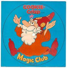 1979 Ralston Cookie-Crisp Cereal Box Premium Magic Club Record