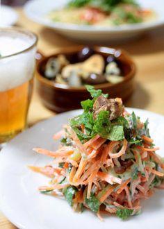 Carrot salad. にんじん サラダ*ラペ