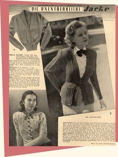 Beswingtes Allerlei - Swing, Mode der 40er und 50er Jahre und Leidenschaft!: Frauenhilfe Mai 05/1950 - unserjahrgang.de