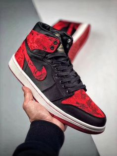 e8835bb73 Men s Air Jordan 1 Retro Sneakers - Red  fashion  clothing  shoes   accessories