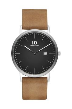 Danish Design Watch IQ13Q1116 Leather Stainless Steel