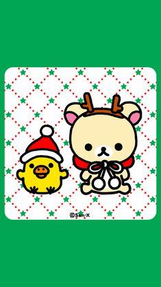 Christmas Wishes, Christmas Time, Rilakkuma Wallpaper, Sanrio Characters, Fictional Characters, Cute Wallpapers, Snoopy, Walls, Kawaii