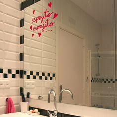 Vinilo Espejito, espejito... by Anna Llenas ::: Mirror Mirror Wall Sticker by…