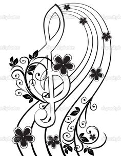 treble clef - Google Search