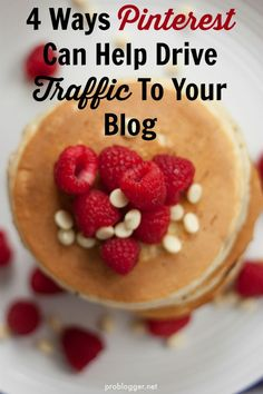4 Ways Pinterest Can Help Drive Traffic To Your Blog - tried and tested tips to boost your traffic with some simple changes. On ProBlogger.net
