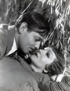 """Clark Gable and Claudette Colbert, """"It Happened One Night"""" (1934)"""