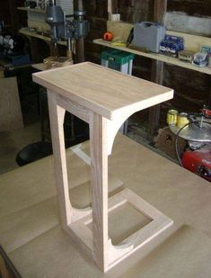 CPAP Stand (OR NITE STAND,END TABLE,TINY HOUSE TABLE FOR TWO (A BIGGER VERSION),LAPTOP or T.V. DINNER TRAY...DB.) #smallwoodworkingprojectsideashome