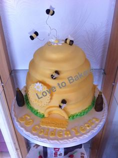 Bee hive for a 50 th anniversary