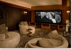 use beanbags location has to create a similar set up in the movie room