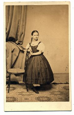 George Mayer, photographer  taken 1860-1870  Hungarian cdv